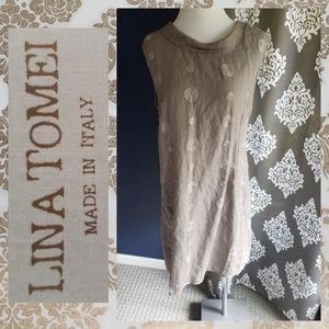 498c94411d Lina Tomei linen dress